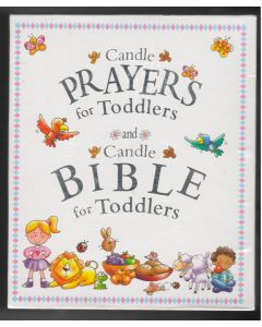 CANDLE BIBLE/TODDLERS/PRAYERS [HC]